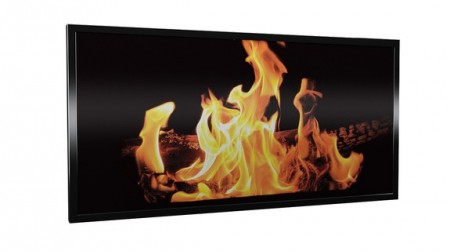 PANELOVN I GLASS MED MOTIV - FIRE 600W